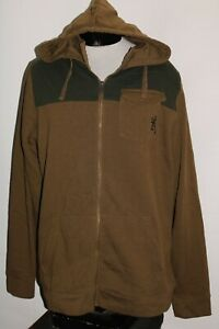 BROWNING Mens 2XL XXL hoodie/hooded Sweatshirt Combine ship Discount