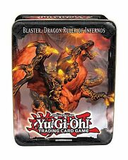 YuGiOh 2013 Wave 1 Collector Tin Set Blaster Dragon Ruler of In... Free Shipping