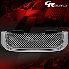 CHROME BENTLEY STYLE FRONT BUMPER ABS GRILLE/GRILL FOR 02-09 GMC ENVOY 04-05 XUV