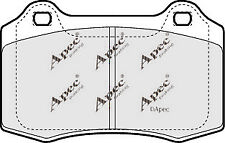 1x OE Quality Brand New Apec Brake Pad Set - PAD1271 - 12 Month Warranty!