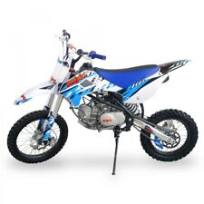 160cc (155cc) Big Wheel Thumpster Pit Bike Pro Motorbike Blue