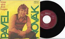 """Pavel Novak - Einer wird dich fragen/Hey Wanderer, sing, Amiga 7"""" Single 1974"""