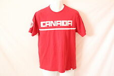 Men's HBC Official Olympic Red Team Canada T-Shirt - Size M