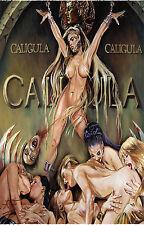 "CALIGULA Movie Silk Fabric Poster 11""x17"" Rare Sex XXX"