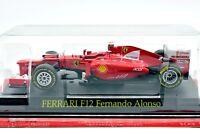 FERRARI FORMULA 1 UNO 1:43 F12 ALONSO F1 MODELLINO AUTO CAR DIECAST IXO ALTAYA