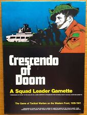 Crescendo of Doom (Squad Leader expansion) - Avalon Hill 1979 – UNPUNCHED