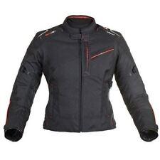 Giacche vestibilità regolabile nero donna per motociclista