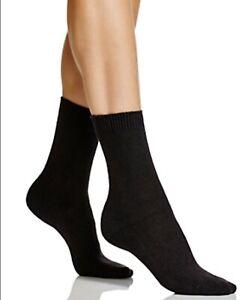 Falke Women's Crew Socks, US Size 5-7.5 (35/38)  Black 1030