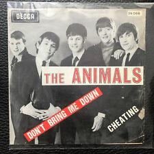 Vinyl 7  The Animals – Don't Bring Me Down Cheating  media VG+ 1966 belgium