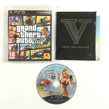 GTA 5 PS3 Grand Theft Auto V Five Playstation 3 Jeu Complet + Carte