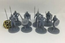 3D Resin Guard miniatures ( 8 Minis)*dice not included*
