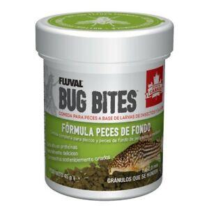 Fluval Bug Bites Formula Plecos 45g alimento loricaridos 1,4 - 2mm