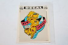 VINTAGE NEW JERSEY (THE GARDEN STATE) TRAVEL DECAL