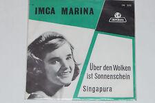"""IMCA MARINA -Über Den Wolken Ist Sonnenschein / Singapura- 7"""" 45 Imperial Rec."""