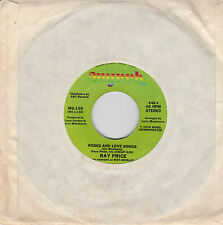 "Ray Price-Roses and love songs/The closest thing to love US 7"" Single Myrrh 1974"