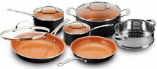 Gotham Steel Pots and Pans 10 Piece Cookware Set with Nonstick Ceramic G14F Sale