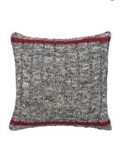 """CHAPS Home HUDSON RIVER VALLEY Pillow Size: 16 x 16"""" NEW Knit Throw SHIP FREE"""