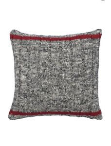 """CHAPS Home PILLOW Size: 16 x 16"""" New SHIP FREE Knit Throw """"Hudson River Valley"""""""
