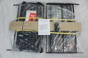 Seville Classic 6-Tier Stackable 24-Pair Woodgrain slat Shelf shoe rack storage
