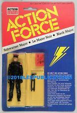 Hasbro GI Joe German Action Force MOC Palitoy Black Major  rare nice