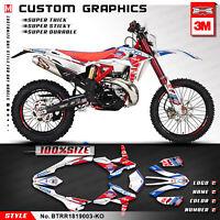 MX Decal Kit For beta RR 50 Rockstar Kit Decocrazione Moto Per