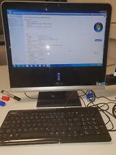 Msi all in one pc MS A912 Intel Atom D510 1,66 Ghz, 320 GB HD, 2 GB RAM Win 7