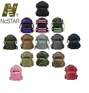 NcSTAR VISM Heavy Duty PALS Utility Camping Hiking Tactical Backpack