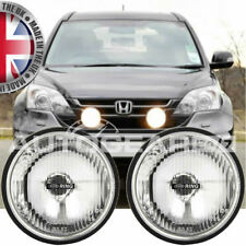 Ring RL020 Car 4x4 Van 12v Round Driving Halogen Lamps Lights Pair + Brackets