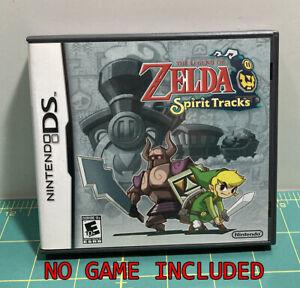 EMPTY Original Case - Legend of Zelda: Spirit Tracks - Nintendo DS - NO GAME