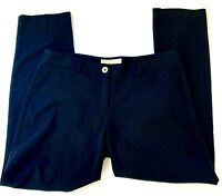 Michael Kors Petite Womens Dress Pants Black Straight Leg Lightweight Size 4P