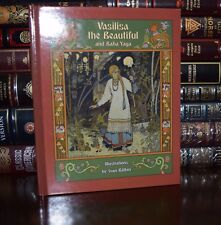Vasilisa the Beautiful Baba Yaga Russian Fairy Tales New Deluxe Gift Hardcover