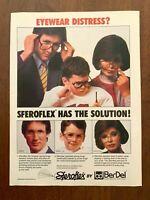 1984 Steroflex Eyewear Vintage Print Ad/Poster 80s Family Pop Art Decor