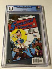Millennium Edition Sensation Comics 1 Cgc 9.8 1st Solo Wonder Woman Story