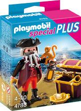 Playmobil Special Plus, Ref 4783, Capitan Pirata con Armas y Accesorios, NUEVO