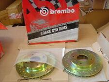MITSUBISHI GALANT 1.8 2.0GLSi BRAKE DISC FRONT BREMBO CROSS DRILLED
