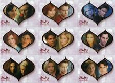 BUFFY THE VAMPIRE SLAYER - The Story So Far 'Couples' Card Set (9)