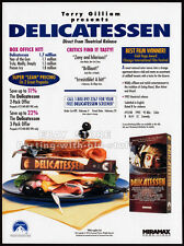 DELICATESSEN__Orig. 1993 Trade print AD promo__TERRY GILLIAM__Jean-Pierre Jeunet