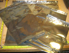 FARADAY CAGE ESD BAGS – 10 LARGE BAGS IN 5 SIZES - Survivalists Preppers EMP
