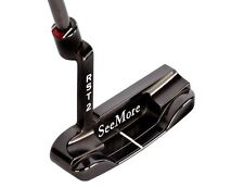 Brand New See More DB4 Putter. SeeMore Black Gunmetal Blade Putter.