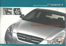 Kia Cee 'd manual de instrucciones de 2007 ceed manual de instrucciones manual bordo libro ba