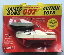 Vintage Gilbert Glidrose 16541 James Bond 007 Dr NO Dragon Réservoir + Largo Hydrofoil