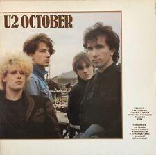 U2 OCTOBER LP ISLAND UK 1981 EXC 3U/5U MATRIX