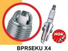 FOR VW TRANSPORTER CARAVELLE MOTOR HOME 2.5 PETROL NGK SPARK PLUGS TWIN PRONG x4
