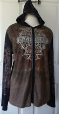 Vanilla Sugar Voyage Extraordinaire Jewels Brown Hoodie Junior Size L