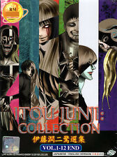 Ito Junji: Collection DVD Complete 1-12 (English Dubbed)  US Seller Ship FAST