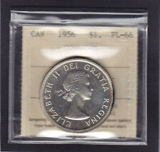 1956 Silver Dollar PL-66 , ICCS Graded