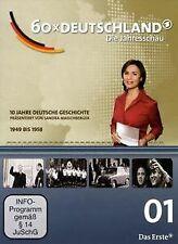 60 x Deutschland - Teil 1 (1949-58) | DVD | Zustand sehr gut