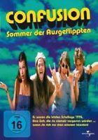 CONFUSION-SOMMER D. AUSGEFLIPPTEN-DVD NEU JASON LONDON,LAUREN ADAMS,M. JOVOVICH