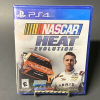 Nascar Heat Evolution Sony Playstation 4 PS4, BRAND NEW, SEALED!! Free Shipping