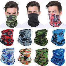 Neck Gaiter Bandana Half Face Mask Headband Ice Silk Face Cover Scarf